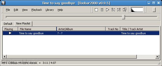 Screenshot-Time to say goodbye   [foobar2000 v0.9.5].png