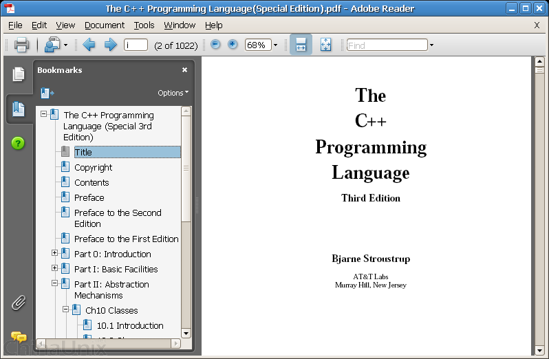 Screenshot-The C++ Programming Language(Special Edition).pdf - Adobe Reader.png