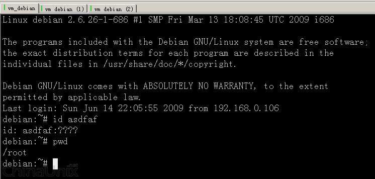 为什么我的第一个securecrt的第一连接中文是乱码 Linux系统管理