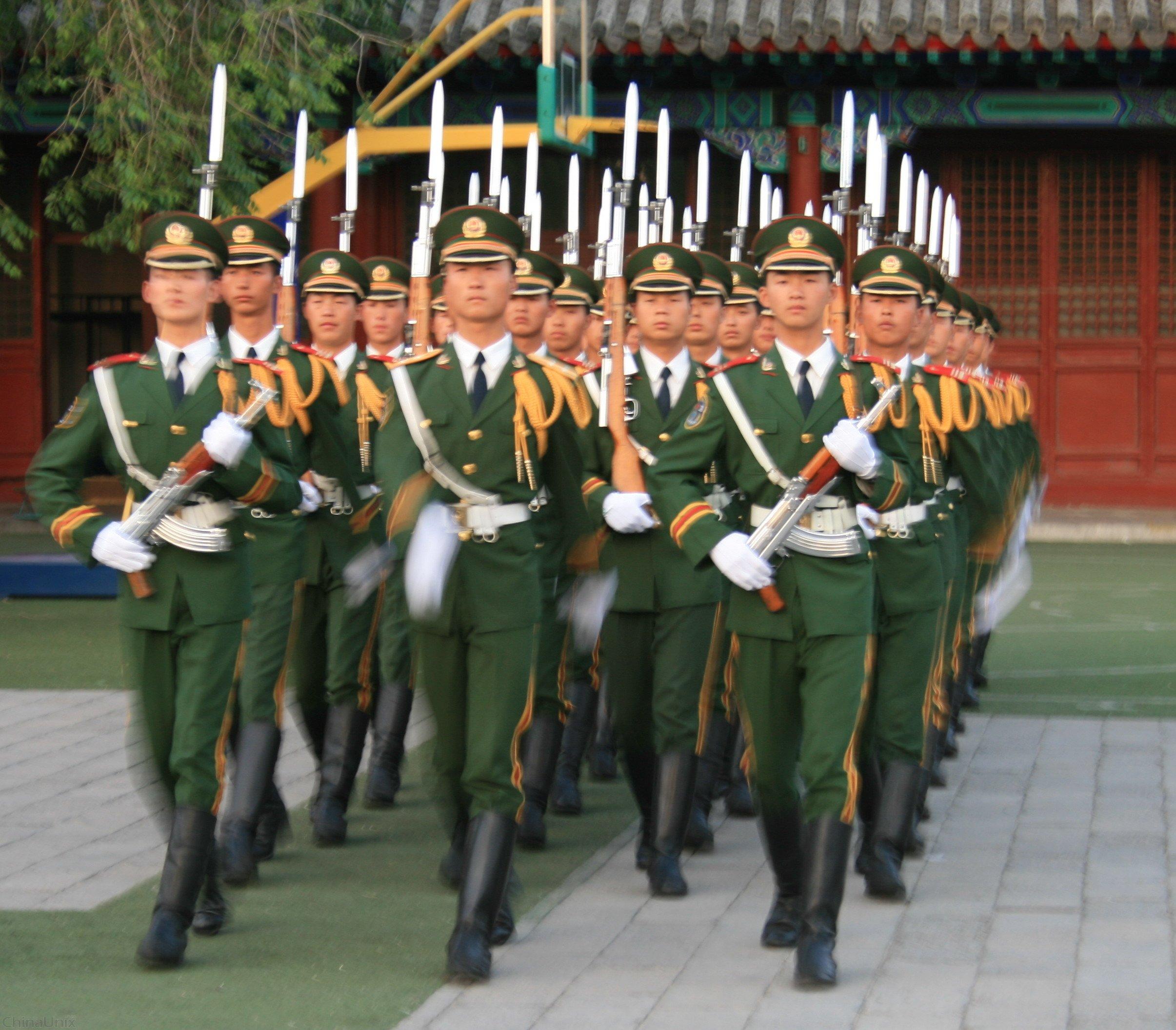 国旗护卫队 快乐数码摄影 高清图片