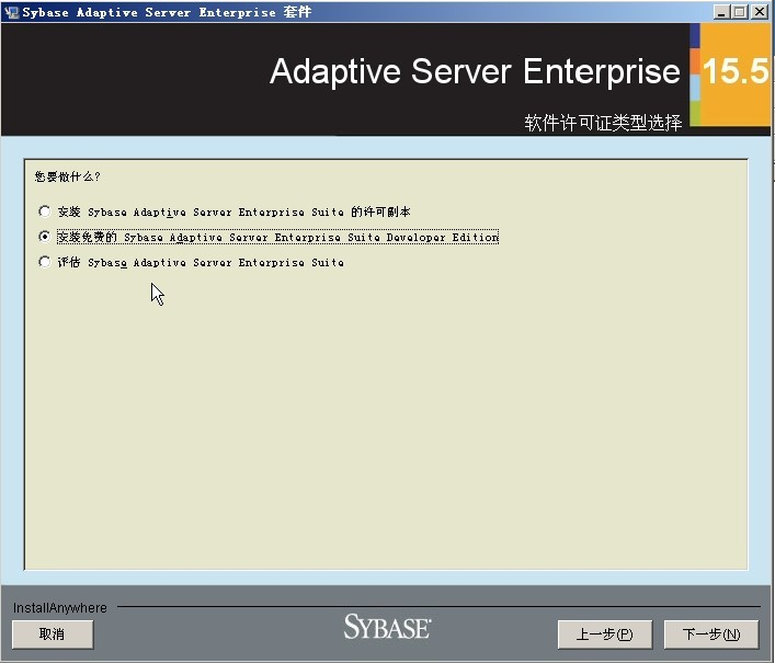 选择安装免费的ASE Suite Developer Edition
