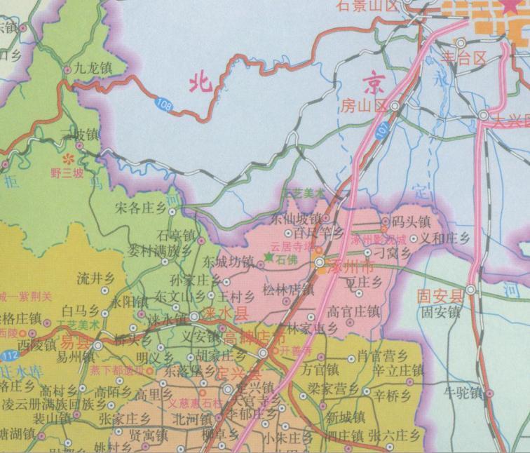 北京行政区16808平方公里