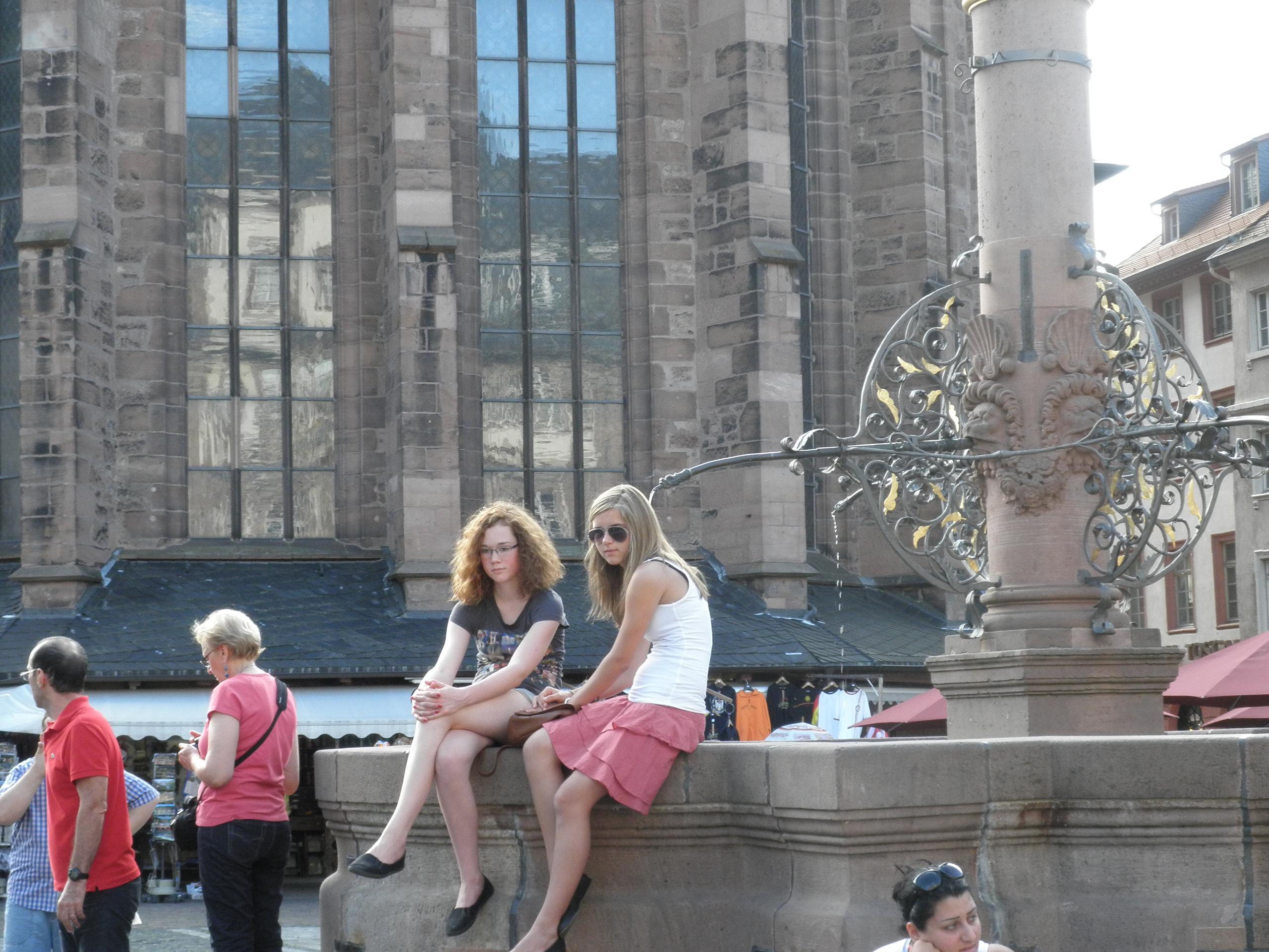 德国美女 快乐数码摄影
